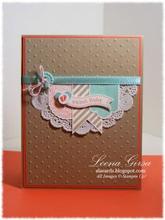 #SU Hearts a Flutter...A La Cards: Sweet