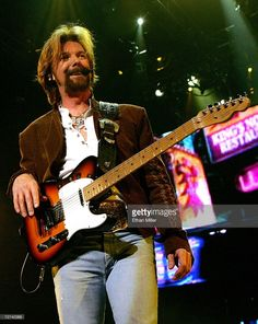 Ronnie Dunn of Brooks & Dunn performs at the Las Vegas Hilton December 5, 2006 in Las Vegas, Nevada. The country music duo is touring in support of the album, 'Hillbilly Deluxe.'