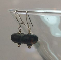 Us Dime, Black Pumpkin, Black Seed, Beaded Earrings, Seed Beads, Bali, Dangles, Seeds, Ceiling Lights