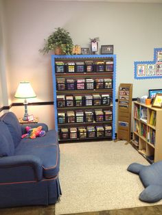reading area in my classroom