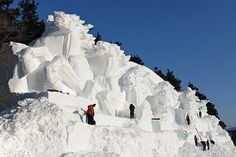 A Look Inside China's Annual Ice Festival Sculptures....So Cool!!!