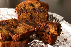 This pumpkin bread is so moist and delicious (and melty), we just can't get enough of it. I've been dreaming of toasting a slice and spreading it with cream cheese. With a cup of tea, it would be t...