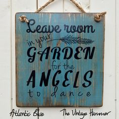 Mothers Day sale. Now through the end of April get this Garden sign for $29. All orders must be placed by April 30th for Mothers Day delivery.