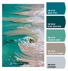 DreamDecorDesign.com <3 Sea Blues