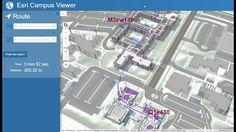ArcGIS Indoors  Campus Viewer Web App