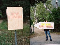 Sunrise Wedding: with coffee bar and breakfast Beach Signs Wooden, Wooden Wedding Signs, Wedding Signage, Post Wedding, Wedding Ideas, Wedding Things, Sunrise Wedding, Dad Day, Types Of Lettering