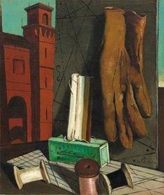 Giorgio de Chirico, I progetti della fanciulla, fine 1915 (New York, MoMA)