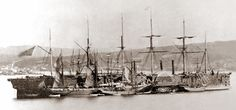 Great Eastern at Hearts Content, July 1866