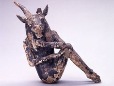 Demon figure, EA50703 from the British Museum. Image courtesy of the British Museum.