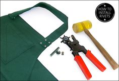 How to Attach Metal Rivets to Sewing Projects | Sew4Home