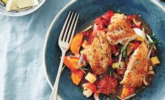 ByLee HolmesWinner winner chicken dinner!Today I'm sharing one of the many fast friendly recipes from my new cook book Fast Your Way to Wellness.Chicken is a staple in my house. I love all its par