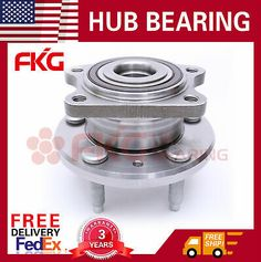 4 Pcs New Front /& Rear Wheel Hub and Bearing Assembly for Pontiac Grand Prix