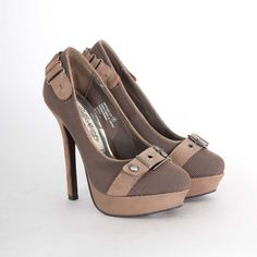 85fa5792ad84 Naughty Monkey Combat Heel in Taupe  80.00 Two Tones