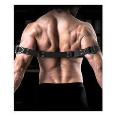 Hot Hope arm muff bondage leather double