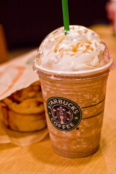 Recipe For Starbucks Salted Caramel Frapp.  My newest addiction. =D