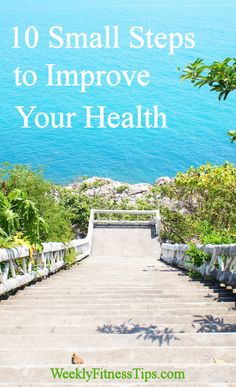 10 Small Steps to Improve Your Health weeklyfitnesstips. Weight Watchers Motivation, Health Motivation, Health And Nutrition, Health And Wellness, Health Fitness, Women's Health, Fit Board Workouts, Fun Workouts, Group Fitness