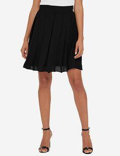 Eva Longoria Pleated Mini Skirt from TheLimited.com