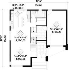 Plan 23714jd spacious and modern transom windows modern house plan image used when printing malvernweather Image collections