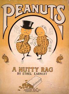 Sheet Music- 1911, Peanuts