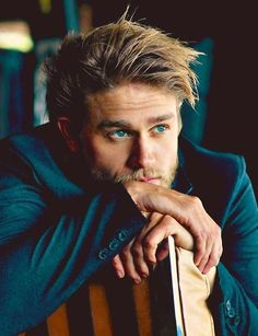 Charlie Hunnam... I mean really come on.....God should have made one of him for every woman who wants one! Don't make one if theres not enough to share!