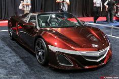 SEMA 2012 Tony Starks Acura NSX Convertible Concept Photo 7