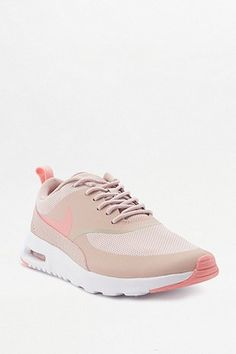 0ee4edcf2746 Nike - Air Max Thea Embossed Leather And Mesh Sneakers - Pink ...