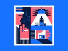 Bar illustration by Jacob Pinson #Design Popular #Dribbble #shots