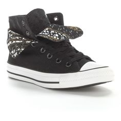 a5840841fe1c  60.00 Converse Black All Star Two-Fold High-Top Sneakers for Women  Converse All