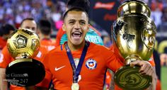 Alexis Sanchez wins Golden Ball as Chile are crowned Copa America champions