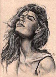 Drawing Portraits - - Discover The Secrets Of Drawing Realistic Pencil Portraits.Let Me Show You How You Too Can Draw Realistic Pencil Portraits With My Truly Step-by-Step Guide. Pencil Art Drawings, Realistic Drawings, Cool Drawings, Drawing Sketches, Drawing Tips, Sketching, Horse Drawings, Drawing Ideas, Portrait Au Crayon