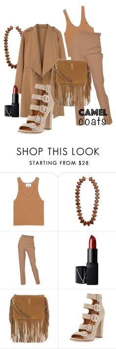 """""""Superfluous"""" by chelsofly on Polyvore featuring 3.1 Phillip Lim, Kenneth Jay Lane, Hermès, NARS Cosmetics, Yves Saint Laurent and Kendall + Kylie"""