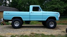 I quite simply prefer this color selection for this 1969 79 Ford Truck, F100 Truck, Ford Ranger Truck, Ford 4x4, Ford Pickup Trucks, Lifted Trucks, Dodge Trucks, 4x4 Trucks, Country Girl Truck