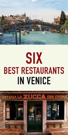 Discover the top 6 best restaurants in VeniceYou can find Venice italy and more on our website.Discover the top 6 best restaurants in Venice European Vacation, Italy Vacation, European Travel, Italy Trip, Venice Italy Restaurants, Best Restaurants In Rome, Venice Food, Italy Travel Tips, Travel Destinations