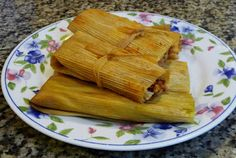 Chicken and Cheese Tamales (Red Salsa and Green Salsa) ~ Easy Cooking