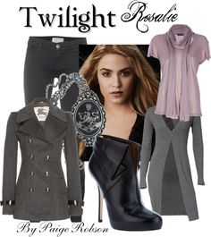 """Twilight: Rosalie"" by paige-robson ❤ liked on Polyvore"