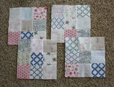 Scrappy Swoon-Along Quilt - Sections 9 and 10 on Hopeful Homemaker at http://hopefulhomemaker.com/wp/2013/02/11/scrappy-swoon-quilt-along-sections-9-10-plus-an-announcement/