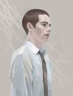 Stiles Stilinski (Dylan O'Brien) Teen Wolf Fan Art