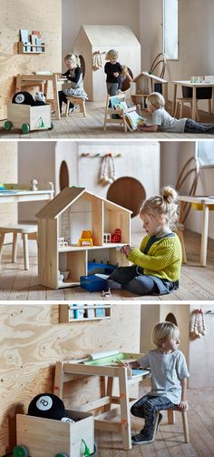 IKEA is introducing FLISAT, a new family of children's furniture and storage.