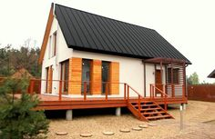Domy z poddaszem użytkowym | Kamp-bud