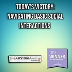 Today's Victory: Navigating Basic Social Interactions  Gavin is very, very, very black and white in his thinking. We had to work very hard to help Gavin understand basic safety concepts like don't talk to strangers. He took that lesson to heart and to the extreme.  For the most part, Gavin will not talk to strangers. This is  https://www.theautismdad.com/2016/09/26/todays-victory-navigating-basic-social-interactions/  Please Like, Share and visit our Sponsors  #Auti