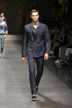 tendances fashion 2016 et coiffure pour homme par Dolce & Gabbana