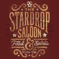 You'll learn a lot about the people of Stardew Valley from hanging around the Stardrop Saloon. For instance: Word around town is that Jon Kay is the master craftsman behind this official Stardew Valle