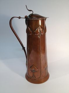 Keswick School of Industrial Arts  copper jug.