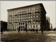 The Plaza Hotel early days