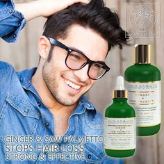 HAIR GROWTH Scalp Botanical Stimulating Ginger & Saw Palmetto stops hair loss,promotes hair growth,fights Alopecia and DHT. EXTRA STRENGTH 💛 FIGHTS HAIR LOSS💛STOPS SMELLY SCALP💛NATURAL DHT BLOCKER💛ALOPECIA PREVENTION 💛Strongest known botanical hair-loss fighting bio-active components: Zingiberene, which can contribute up to 30% of the essential oil in Ginger rhizomes; and Curcumin from Turmeric Essential Oil 🌿💛🌿💚 VEGAN ORGANIC NATURAL SLS-FREE 💚 Check out our website to learn…