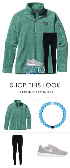 """""""Gymnastics today """" by abigailcdunn ❤ liked on Polyvore featuring Patagonia and NIKE"""