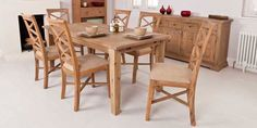 The new Arabella dining table with 6 chairs - amazing style and quality at seriously low prices !