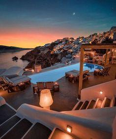 Katikies Hotel Santorini, Cavo Tagoo Mykonos, Santorini Hotels, Vacation Places, Vacation Destinations, Dream Vacations, Vacation Spots, Leiden, Beautiful Places To Travel