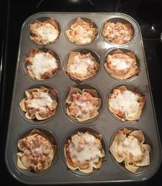 Lasagna Cups | The Random Arrow