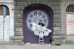 artista polaca NeSpoon